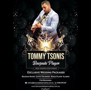 bouzouki player for hire sydney - tommy tsonis